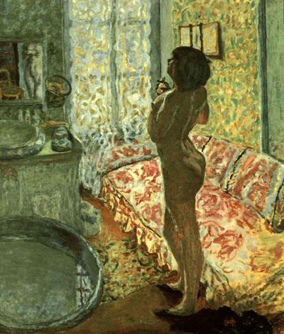 Pierre Bonnard Nude Against Daylight 1908