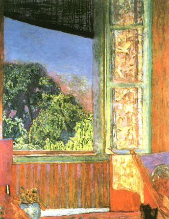 Pierre Bonnard The Open Window 1921