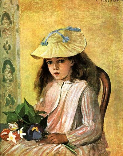 Camille Pissarro The Artist's Daughter 1872