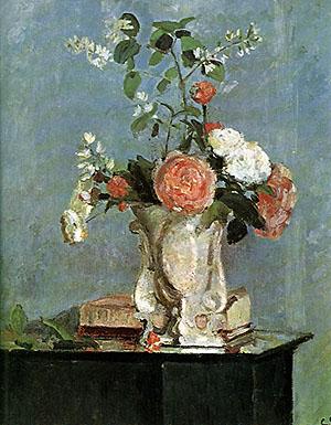 Camille Pissarro Bouquet of Flowers  1873
