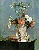 Camille Pissarro Bouquet of Flowers  1873