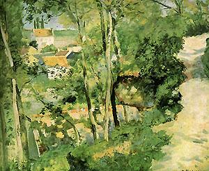 Camille Pissarro Climbing Path 1875