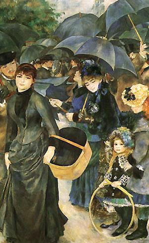 Pierre Auguste Renoir The Umbrellas 1881