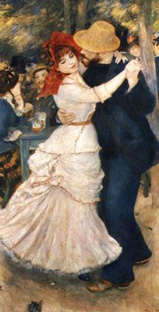 Pierre Auguste Renoir Dance at Bougival 1883