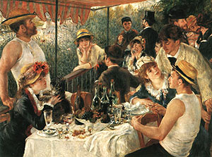 Pierre Auguste Renoir The Luncheon of the Boating Party 1881