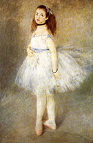 Pierre Auguste Renoir The Dancer 1874