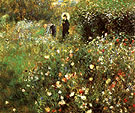 Pierre Auguste Renoir Summer Landscape 1873