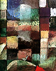 Paul Klee On a Motif from Hamamet 1914