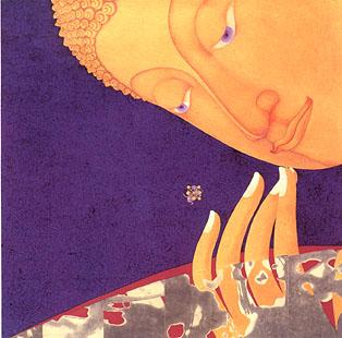 Buddha Sunset Buddha