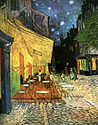 Vincent van Gogh The Cafe Terrace at Arles at Night
