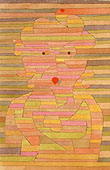 Paul Klee Mrs B Portrait