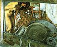 Pierre Bonnard Reflection in the Mirror 1909