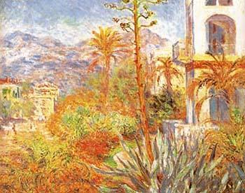 Claude Monet Villas at Bordighera 1884