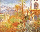 Claude Monet Villas at Bordighera 1884