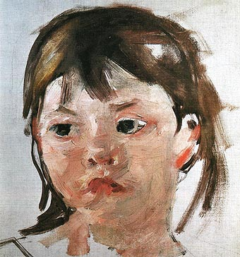 Mary Cassatt Head of a Little Girl