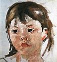 Mary Cassatt Head of a Little Girl