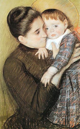 Mary Cassatt Helene de Septeuil 1889