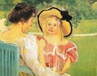 Mary Cassatt In the Garden 1904