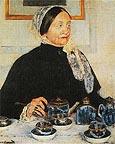 Mary Cassatt Lady at the Tea Table 1885