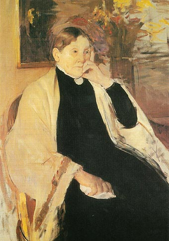 Mary Cassatt Mrs Robert S Cassatt The Artists Mother 1889