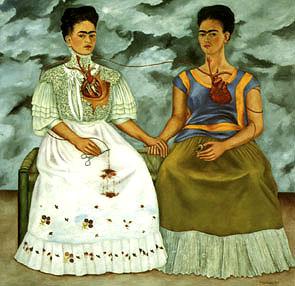 Frida Kahlo The Two Fridas 1939