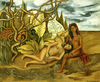Frida Kahlo Two Nudes in the Wood 1939