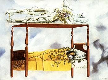 Frida Kahlo The Dream 1940