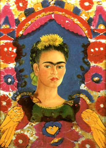 Frida Kahlo Self Portrait The Frame 1938