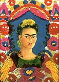 Frida Kahlo Self Portrait The Frame 1938