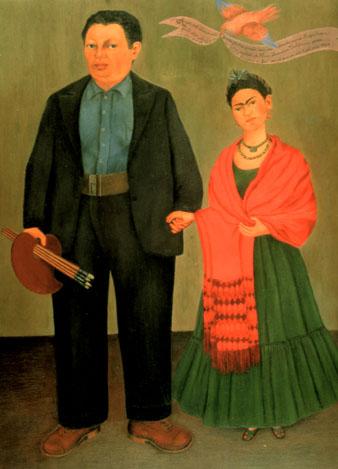 Frida Kahlo Frida and Diego Rivera 1931