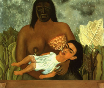 Frida Kahlo My Nurse and I 1937