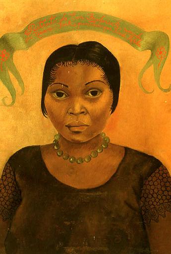 Frida Kahlo Portrait of Eva Frederick