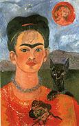 Frida Kahlo Self Portrait with Deigo on the Breast 1953
