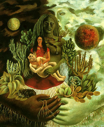 Frida Kahlo Love Embrace of the Universe 1949