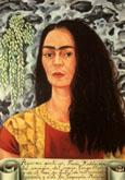 Frida Kahlo Self Portrait with Hair Loose 1947