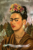 Frida Kahlo Self Portrait Dedicated to Dr Eloesser 1940