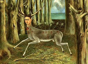 Frida Kahlo The Wounded Deer 1946