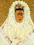 Frida Kahlo Self Portrait as a Tehuana