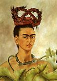 Frida Kahlo Self Portrait with Braid 1941