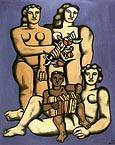 Fernand Leger Three Sisters