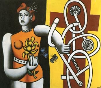 Fernand Leger Big Julie 1945