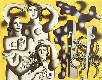 Fernand Leger Composition with Three Figures 1932
