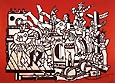 Fernand Leger The Great Parade with Red Background 1953
