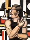 Fernand Leger The Mechanic 1920