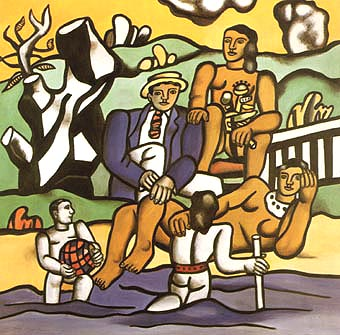 Fernand Leger The Country Outing 1954