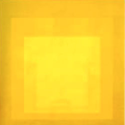 Josef Albers Homage to the Square Yellow 1964