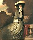 John White Alexander Portrait of Mrs John White Alexander 1856