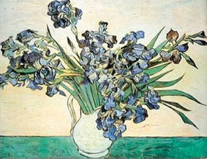 Vincent van Gogh Vase of Irises