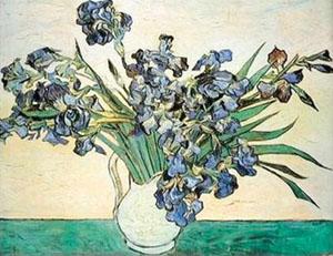 Vincent van Gogh Vase of Irises