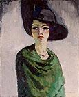 Kees van Dongen Woman in a Black Hat 1908